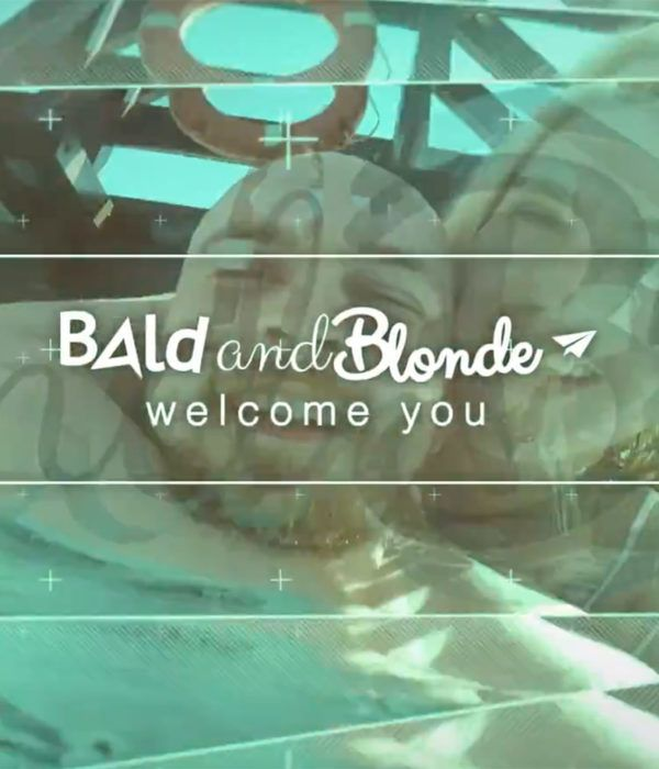Our first promo video for Bald and Blonde World