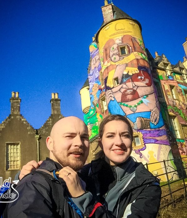 Sunny Sunday exploring Kelburn Castle grounds