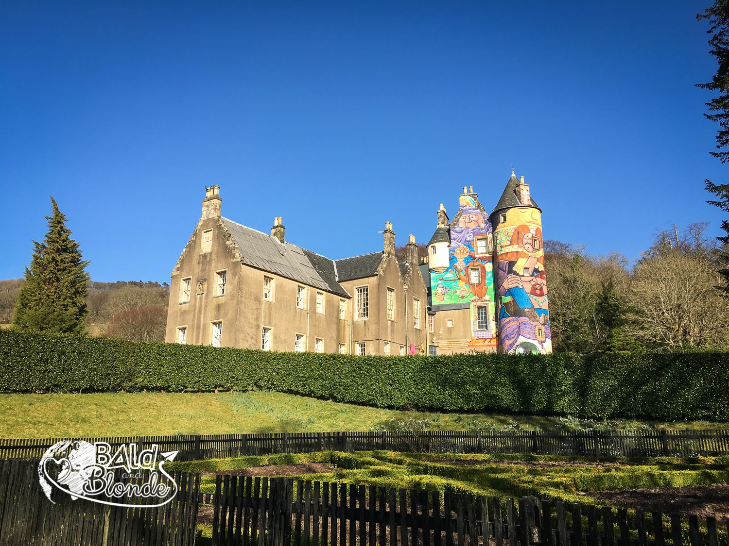 Kelburn Castle - Bald and Blonde