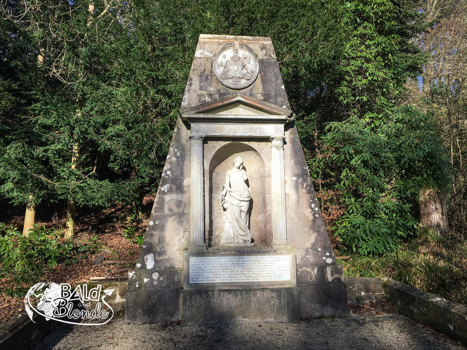 Kelburn Castle Monument - Bald and Blonde
